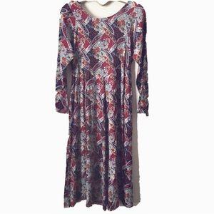 9322d1a4dd4d Erika Dresses   Boho Hippie Style Paisley Print Dress   Poshmark